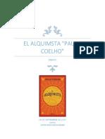 El Alquimista Ensayo COCO