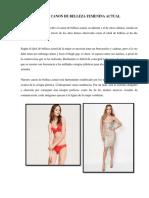 CAPÍTULO 1 CANON DE BELLEZA FEMENINA ACTUAL_CONCLUIDO