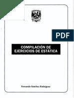 COMPILACION DE EJERCICIOS DE ESTATICA.pdf