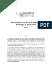 Facundo de Sarmiento por Noe Jitrik.pdf