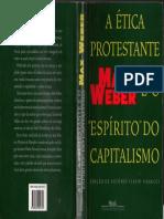 Max Weber - A ética Protestante e o Espirito do Capitalismo.pdf