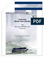 Master Data Management and Master Data Liquidity