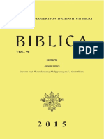 Biblica Writing Sample - Peters