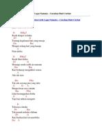 Chord Gitar Dan Lirik Lagu Numata - Curahan Hati Curhat