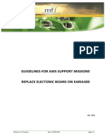 20150702 Guidelines for Support Mission AWS - Wind Electronic Board Replacement Procedure V01 FT