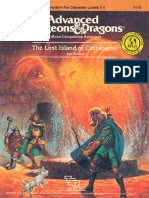 AD&D 1.0 C3 Level 1-4 Adventure - The Lost Island of Castanamir