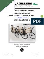 Como Hacer Una Bicicleta Con Canias de Bamboo
