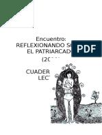 (AJI) Encuentro Reflexionando Sobre El Patriarcado