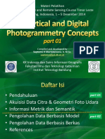 Analytical & Digital Photogrammetry Concepts 01