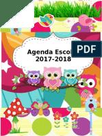 AGENDA-ESCOLAR-EDITABLE 2017 - 2018.doc