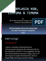(1) Hiperplasia Kgb, Limfoma, Timoma