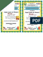 Top 10 Certificate