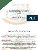 Iniciación Deportiva Del Handball 1