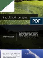 Eutrofización del agua