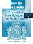 Revista de Direito da Procuradoria Geral do Município do Rio de Janeiro - n° 3 - 2002
