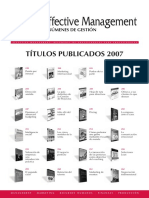 Resumenes Libros 2007 Effective Management