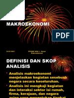Pengenalan Dasar Makroekonomi