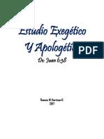 Estudio Exegético de Juan 6-38