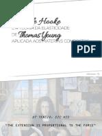 Lei de Hooke e a Teoria Da Elasticidade Aplicada Aos Materiais Compositos
