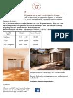 Casa M - Sala 36m2 _ Consultas 14m2_11m2