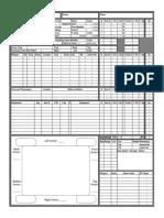 Autoduel - Accessory - Construction Sheet - Car-Truck-Van