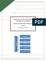 Plan Anual de Ciencias 3 Enfasis en Quimica