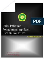 Panduan Pengisian Data UKT Online 2017