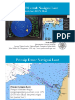 Aplikasi GNSS Untuk Navigasi Laut
