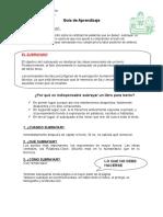 Guía de Aprendizaje subrayado.doc