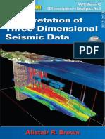 Interpretation of Three-Dimensional Seismic Data