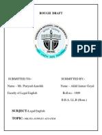 English Rough Draft