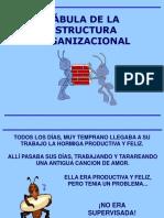 Fabula de La Estructura Organizacional