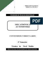 Mecatronica Automotriz 2° Semestre