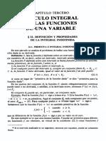 Análisis matemático Kudriavtsev capítulo 3