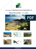 Geological Framework and Mineralization of PNG 2012 - An Update