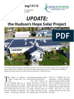 Watt's#115 UPDATE-Hudson's Hope Solar