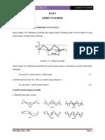 BAB I Diktat Mat Tek II-Deret Fourier