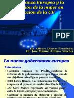 La Nueva Gobernanza Europea y Papel de La Mujer en La Construcción Europea