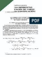 Análisis matemático Kudriavtsev capítulo 5