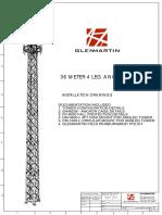 Dp1000 - 4 Leg Angle Tower