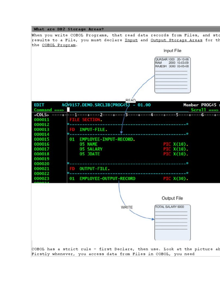 What Are DB2 Storage Areas   Sql   Ibm Db2