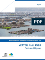 Water & Jobs - Facts & Figures