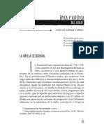 Carlo Gomez Carro - Épica y estética del albur.