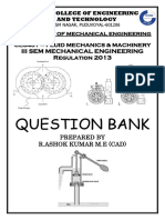 FLUID MECHANICS & MACHINERY NOTES WITH QUESTION BANK AND TWO MARK QUESTION ANSWERS