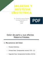 Analgesia y Anestesia Obst1