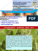 Granadilla Cultivo 2010