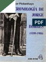 Jorge Oscar Pickenhayn - Cronología de Jorge Luis Borges (1899 - 1986) (by Thecastleofdreams).pdf