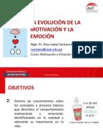 1. La Evolución de La Motivación y Emoción