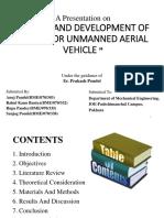 Presentation on UAV