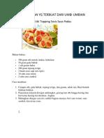 5 Jenis Makanan Yg Terbuat Dari Umbi Umbian